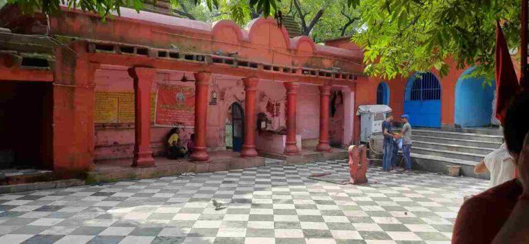 Kalyaneshwari temple premises